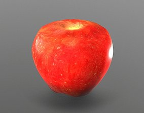 Apple other 3D asset low-poly