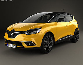 Renault Scenic 2016 3D model