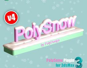 asset PolySnow V4 for 3dsmax