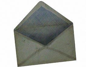 3D asset Paper Envelope