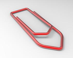 Paperclip 3D print model