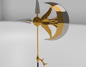 3D Escanor Divine Axe Rhitta High Poly