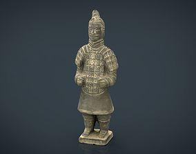 Terracotta Warriors Soldier Type 2 3D asset