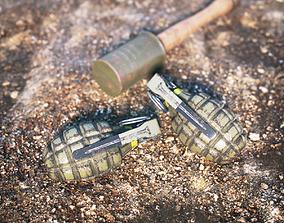 Grenades Pack 3D model