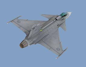 3D model JAS 39C Gripen
