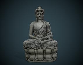 Buddha 3D asset VR / AR ready PBR