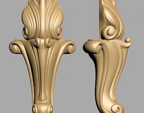 Carved Leg 3D