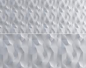 realtime 3d Gypsum Panels wall panel 3d model