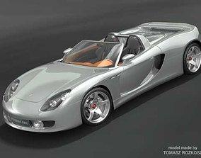 3D model Porsche Carrera GT 2006