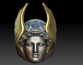 hermes ring greek god 3D printable model