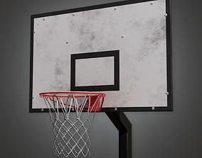 PAP - Basketball Court - PBR Game Ready 3D model