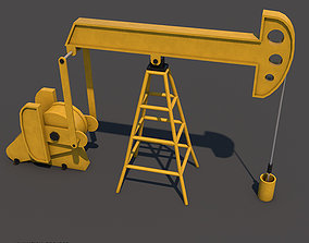 3D printable model Oil Pumpjack