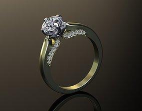 3D print model Ring for engagement