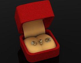 3D printable model puma rings