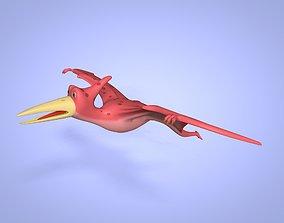 3D model Cartoon Dinosaur -- Pteranodon