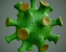 3D model Coronavirus - PBR -