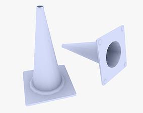 3D asset Traffic Cone