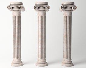 Antique Column 02 3D asset