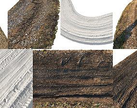 3D Ralistic scanned roads