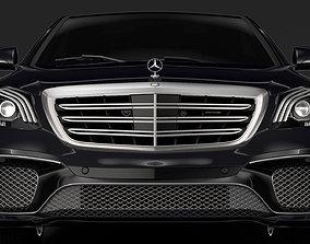 3D Mercedes AMG S 65 V222 2018 Lang