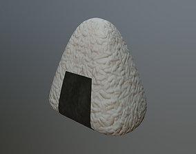 3D asset Onigiri
