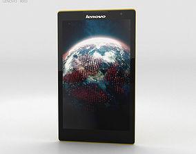 3D model Lenovo Tab S8 Canary Yellow