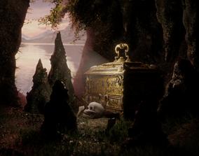 The Forbidden Treasure 3D model