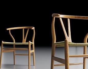 Wishbone Chair 3D model