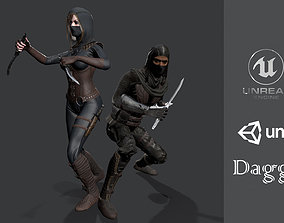 Daggers collection 3D