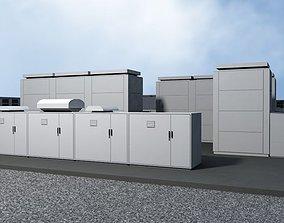 3D model 20 MegaWatt NAS Battery Park Ready to Render