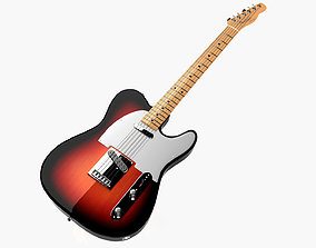 3D model Fender Telecaster 1966