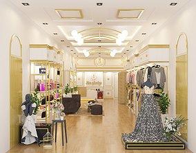 Clothe Store 3D model