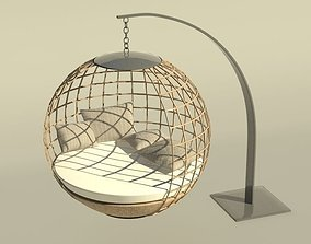 3D Daybed hanging chair