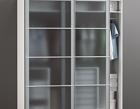 3D model IKEA PAX wardrobe