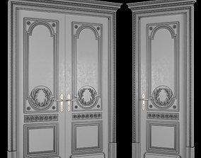 3D model game-ready bishop door