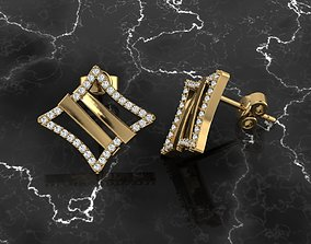 rose Jewelry Earring 3D printable model