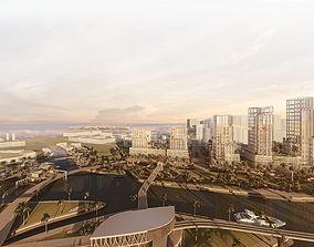 3D model Large Urban Scheme
