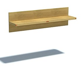 3D Wooden Wall Shelf