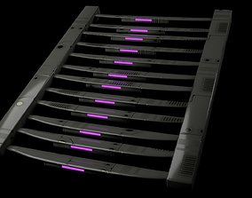 Ladder Sci-Fi 3D asset