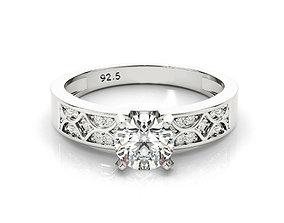 3design price created white sapphire engagement