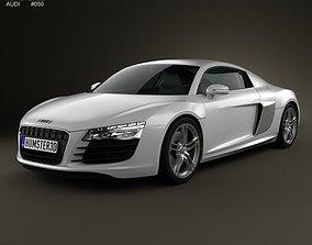 3D Audi R8 Coupe 2013