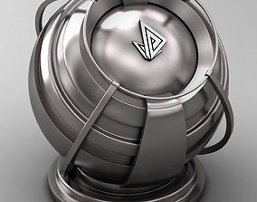 3D VRAY SHADER---METAL---Niobium