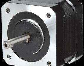 3D model Nema 17 Stepper Motor