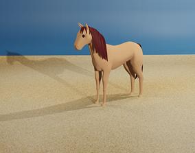 3D Horse animals