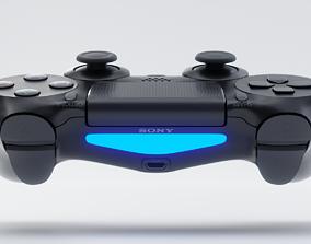 Sony PS4 Controller - Playstation DualShock 4 3D asset