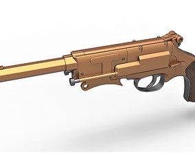 3D printable model Malcolm Reynolds pistol from Firefly