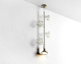 Flora Pendant Lamp flower 3D model
