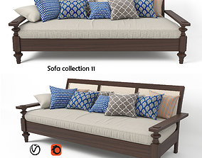 3D model Sofa collection 11