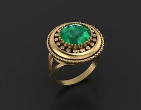 Ethnic Vintage Ring 3D print model