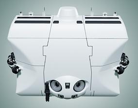 3D model Triton 36000 Submarine